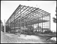 Sail loft building for Ratsey & Lapthorne, City Island, Bronx, September 19, 1916. Photographed for G.E. Tilt & Company.