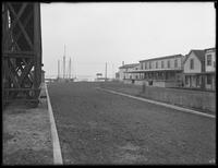 Bungalows and harbor, Broad Channel (?), Queens, undated (ca. January 1917).