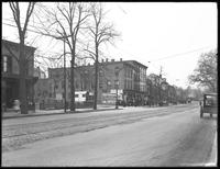 49 Main Street, corner of Washington, Flushing, Queens, undated (ca. March-April 1918).