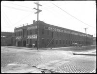 Grossman & Rosenbaum Iron Works, Willow Avenue and E. 133rd Street, Bronx, July 26, 1918. Photographed for Joseph P. Day.
