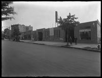 Bergen Garage, on the Francis T. Lord estate (Grand Concourse, Jerome Avenue, between 180th and 181st Streets and adjacent), Bronx, undated (ca. June 1919). Photographed for Joseph P. Day.