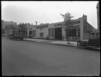 Maxim Garage, on the Francis T. Lord estate (Grand Concourse, Jerome Avenue, between 180th and 181st Streets and adjacent), Bronx, undated (ca. June 1919). Photographed for Joseph P. Day.