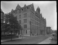 P.S. 28, Mount Hope Place and Anthony Avenue, on the Francis T. Lord estate (Grand Concourse, Jerome Avenue, between 180th and 181st Streets and adjacent), Bronx, undated (ca. June 1919). Photographed for Joseph P. Day.