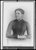 Copy photo of an unidentified African-American woman, undated.