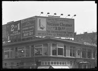 Billboard for the United Electric Shops, New York City, undated (ca. April 1917).
