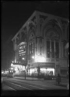Night view of the Loew's Avenue B Theatre, New York City, undated (ca. June 1917).