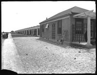 'Apartcot' bungalows under construction, Manhattan Beach, Brooklyn, May 29, 1919. Photographed for Joseph P. Day.