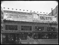 UEL&P billboards at W. 145th Street, New York City, September 29, 1915. Photographed for the United Electric Light & Power Company.
