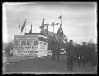 German U-boat UC-5 on display in Central Park to sell Liberty Bonds, New York City October 25, 1917.