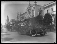 Admission Day Parade Official Car, Panama-California Exposition, San Diego, California, September 10, 1915.