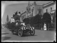 Admission Day Parade, New York State Car, Panama-California Exposition, San Diego, California, September 10, 1915.
