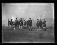 18th century military historical reenactment, undated (ca. 1930-1935).