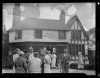 Dickens' Old Curiosity Shop, Streets of the World, Great Lakes Exposition, Cleveland, Ohio, undated (ca. 1936-1937).