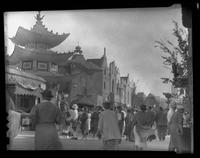 Streets of the World, Great Lakes Exposition, Cleveland, Ohio, undated (ca. 1936-1937).