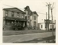 Newtown: view of the west side of Dry Harbor Road opposite St. John Cemetery, Middle Village, 1922.