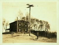 Newtown:John Schmidt House, on the south side of Cooper avenue (Copeland Avenue), northeast of the LIRR crossing, Glendale Heights, 1923.