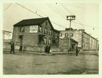 Newtown: view of the northwest corner of St. Nicholas Avenue and Gates Avenue, Ridgewood, 1923.