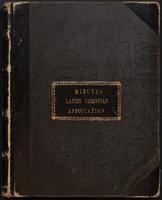 Ladies' Christian Union records, 1850-2001 (bulk 1858-1960). Series III: Minutes, 1858-1958.