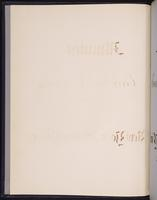 Minutes of the Executive Committee of the New-York Historical Society, 1852-1862, flyleaf