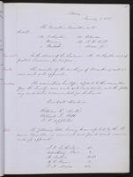 Minutes of the Executive Committee of the New-York Historical Society, 1852-1862, page 13, minutes of January 3, 1853