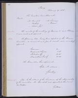 Minutes of the Executive Committee of the New-York Historical Society, 1852-1862, page 108, minutes of February 19, 1856