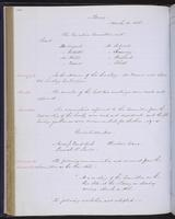 Minutes of the Executive Committee of the New-York Historical Society, 1852-1862, page 110, minutes of March 18, 1856