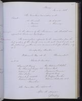 Minutes of the Executive Committee of the New-York Historical Society, 1852-1862, page 115, minutes of June 17, 1856