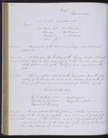 Minutes of the Executive Committee of the New-York Historical Society, 1852-1862, page 116, minutes of September 23, 1856