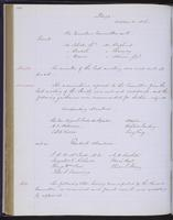 Minutes of the Executive Committee of the New-York Historical Society, 1852-1862, page 118, minutes of October 21, 1856