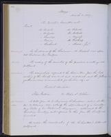 Minutes of the Executive Committee of the New-York Historical Society, 1852-1862, page 134, minutes of March 3, 1857