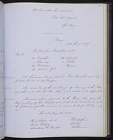Minutes of the Executive Committee of the New-York Historical Society, 1852-1862, page 135, minutes of March 3, 1857 (continued)-March 17, 1857