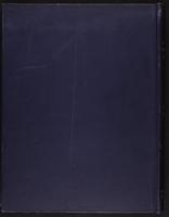 Minutes of the Executive Committee of the New-York Historical Society, 1852-1862, lower cover