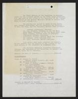[Minutes of the final meeting of the committee on arrangements for the farewell dinner to the 207th Coast Artillery, held January 2nd, 1941, submitted by George Albert Legg, secretary], page [1].