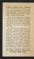 "A brief history of the captured German submarine ""U-Buy-A-Bond"", page [2]."