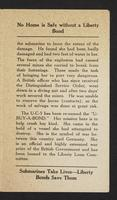 "A brief history of the captured German submarine ""U-Buy-A-Bond"", page [3]."