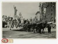 Historical Parade Float No. 53: Statue of Liberty.