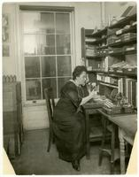 [Beals in her studio].