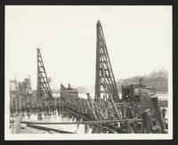 Subway Construction Photograph Collection, Independent City Lines. Route 105, 1927-1933