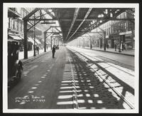 Subway Construction Photograph Collection, Independent City Lines. Route 110, 1929-1938