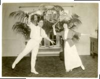 New Parisian dancers Señor Sebastian & Mme Mann--they danced at the opening of the Albemarle Hoffman Roof garden …