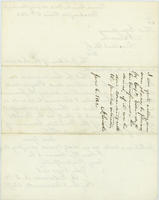 A. Edwards letter to Abraham Lincoln, June 6, 1862, with endorsement by Abraham Lincoln, page [2].