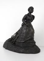Maquette for 'Swing low : a Harriet Tubman memorial'.