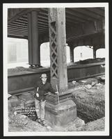 Vernon Avenue Bridge, Column # 3W, Brooklyn of Queens [?]