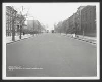 Washington Avenue north from Lafayette Avenue, Brooklyn