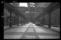 9th Avenue El Manhattan Perry Street, November 26, 1940.