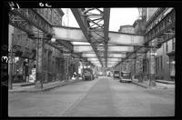 9th Avenue El Manhattan West 11th Street, November 26, 1940.