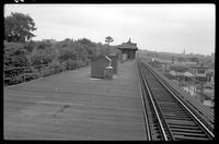 Fifth Avenue El, Brooklyn, at 25th Street looking south, May 29, 1940.