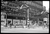 Fulton Street El, Brooklyn, at Bond Street, June 20, 1941.