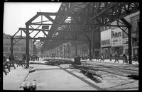 Fulton Street El, Brooklyn, at Elm Street, June 20, 1941.