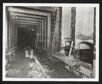 Eastbound express track, [Fulton Street between Bedford Avenue and Nostrand Avenue], Station 82+50, Brooklyn